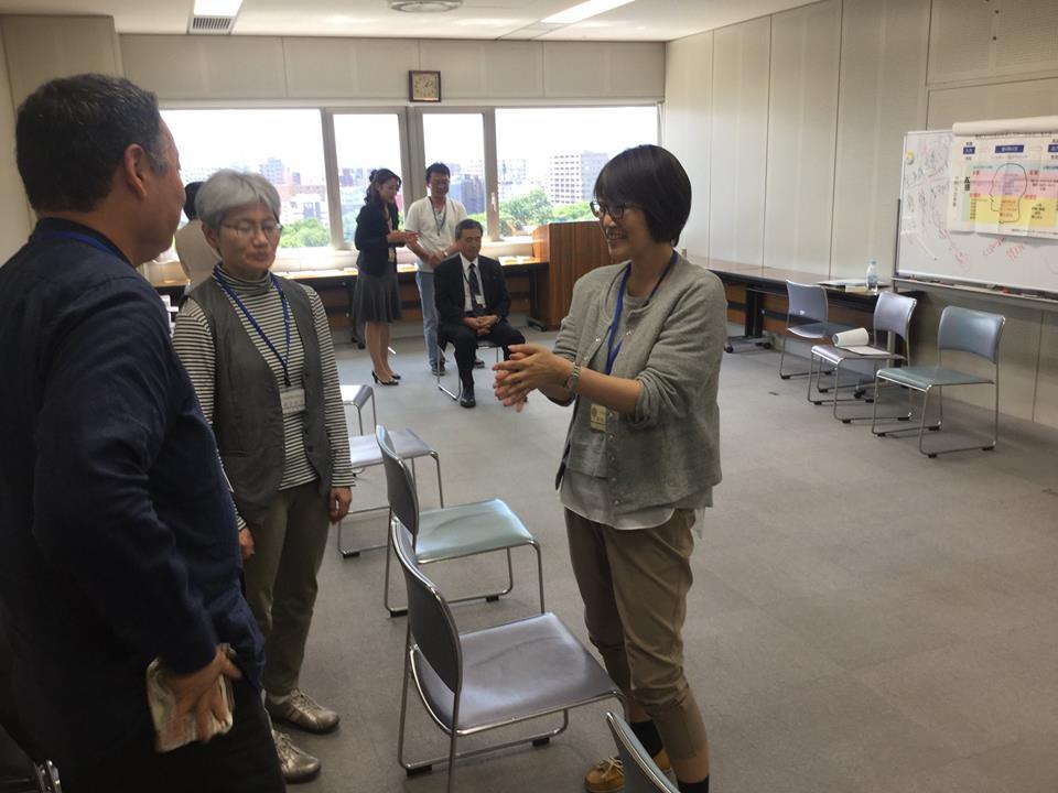 札幌校NLPプラクティショナー 受講の様子